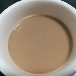 レンジで簡単!ミルクティー