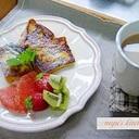 ちょっぴり贅沢なフレンチトースト♪