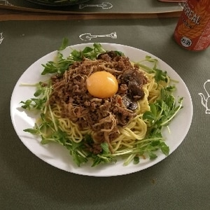 【糖質制限】糖質0麺♡台湾まぜそば(油そば)