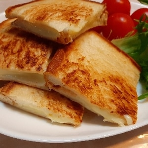 朝食・軽食に☆グリルチーズサンド