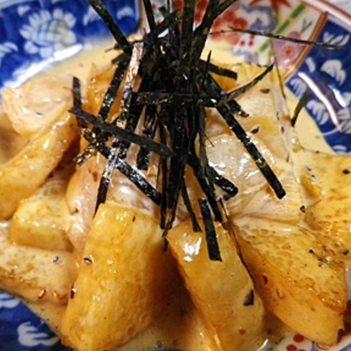 ホタテと揚げ長芋のマヨサラダ
