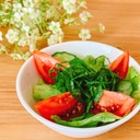 しそと野菜サラダ♪