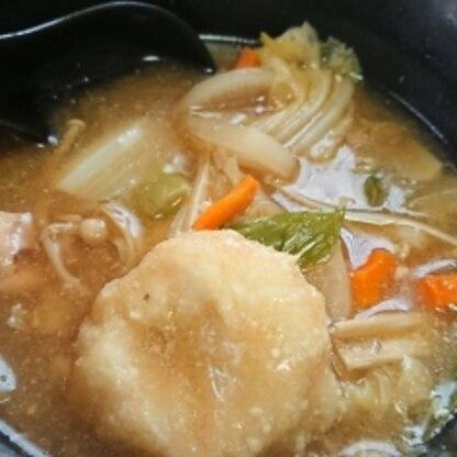 野菜たっぷり入れて、一つで栄養の摂れる一食となりました。 ごちそうさまです。 美味しく、おからの利用出来るレシピをありがとうございました!