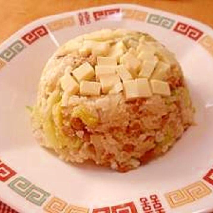 便秘解消☆野菜とおからのチャーハン