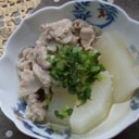 あっさり!美味しい☆大根と豚肉の煮物