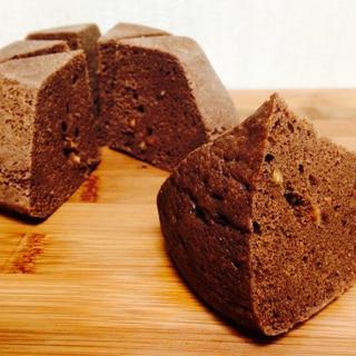 【糖質制限】レンジ☆大豆粉のチョコ蒸しパン
