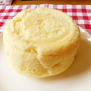 レンジで簡単ケーキスポンジ(卵不使用も可)