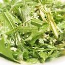 (¨̮)⑅自家製ゴマだれ♪水菜のサラダ.·˖*