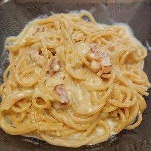 フライパン一つで とろーりチーズのクリームパスタ!