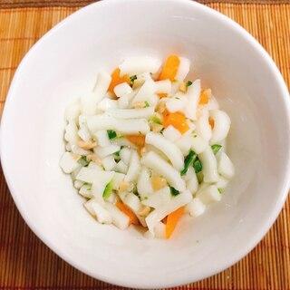 【離乳食後期】納豆とおくらと人参の和風うどん