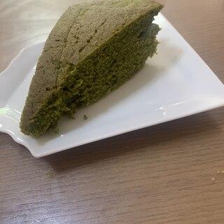 無水鍋で米粉抹茶パウンドケーキ