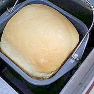 生クリーム入りパン(HBレシピ)