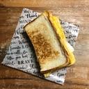 チーズささみマヨのホットサンド♪
