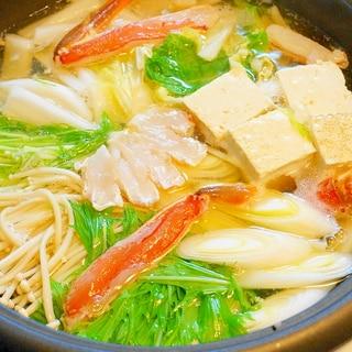 カニ解凍~カニ雑炊まで!カニしゃぶ