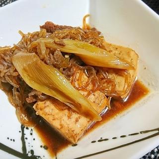 簡単☆肉豆腐