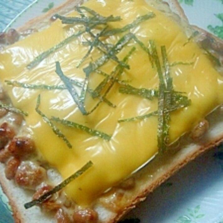 マヨ納豆チーズトースト