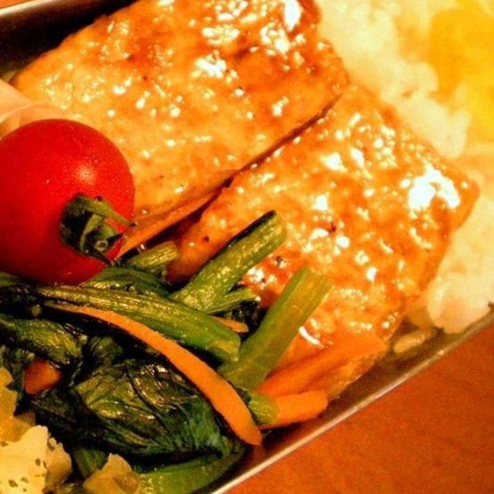 お弁当用 水の出にくい豆腐の照り焼きのコツ