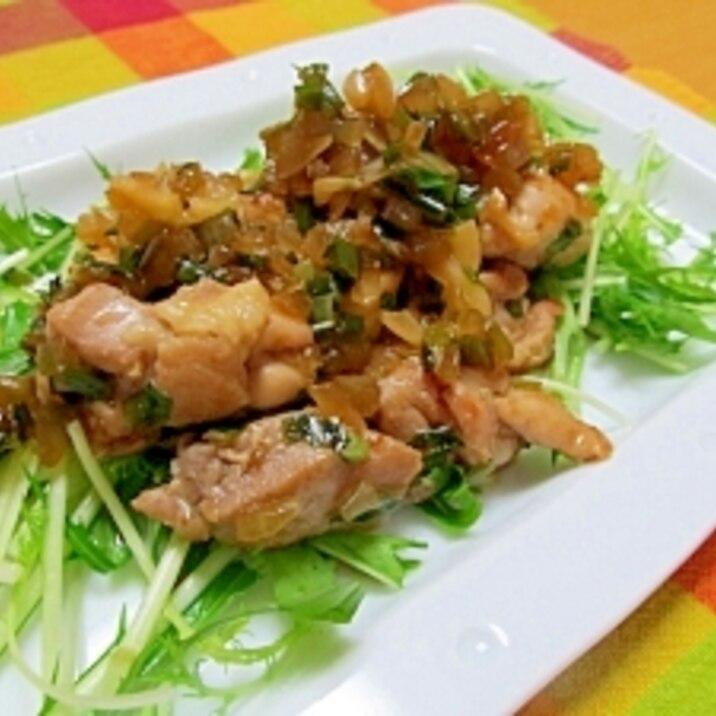 ニラ 鶏肉