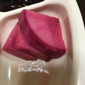 赤大根の甘酢漬け☆超簡単☆