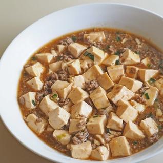 味噌味じゃない うちの麻婆豆腐♪