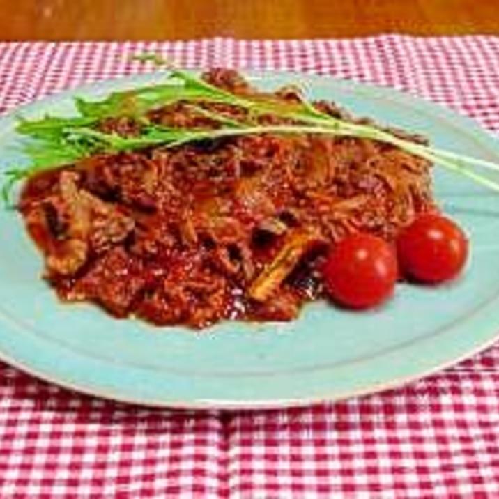 トマト 煮込み 牛肉 牛肉とプルーンの赤ワイン煮