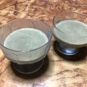アガーで簡単☆抹茶ババロア