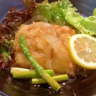 鰆(さわら)の甘酢あんかけ☆さっぱりレモン風味