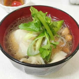 秋田の郷土料理 芋の子汁