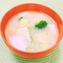 栄養満点♫*ブロッコリーのお味噌汁✧˖°