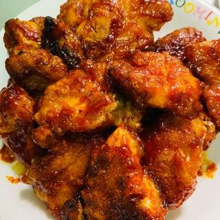 鶏胸肉のコチュジャン炒め