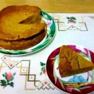 簡単☆かぼちゃケーキ