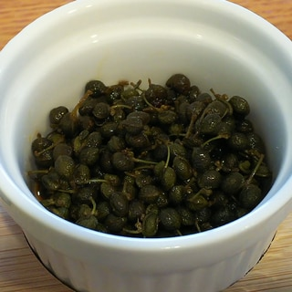 ごはんがすすむ♪実山椒の佃煮♪