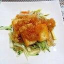 木綿豆腐の香味野菜タレ掛け~♪