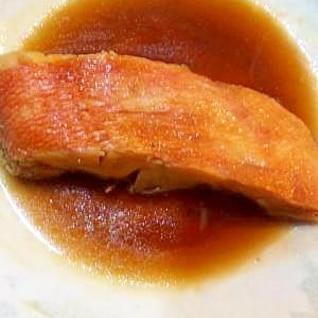 定番☆金目鯛の煮物