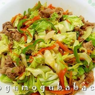 焼肉のたれで簡単☆スタミナ野菜炒め