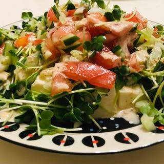 野菜たっぷり☆豆腐サラダ☆