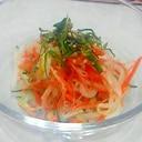 モヤシたっぷり!!カニカマサラダ