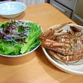 蒸し蟹はゆで蟹より美味。