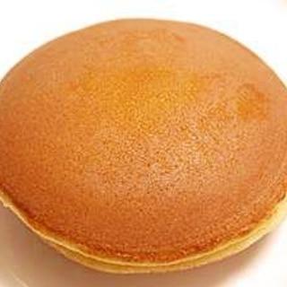 簡単★ホットケーキの素で桜のどら焼き(白あん)