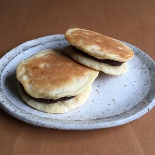 米粉パンケーキあんサンド♪