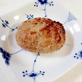 フライパンで下準備~焼きまで ずぼらハンバーグ