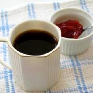 ジャムで! ロシアン風コーヒー♪
