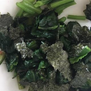 ほうれん草の海苔ナムル