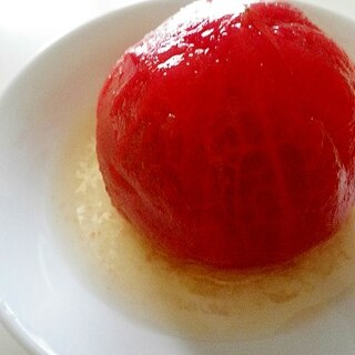 まるごとトマトの甘酢漬け