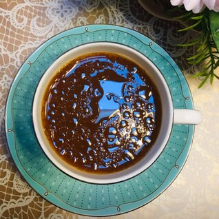 えごま油入り☆アーモンドミルクコーヒー☆