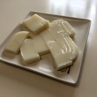 低脂肪乳でつくる牛乳ゼリー