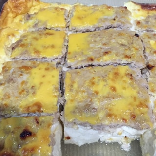 豆腐の肉味噌オーブン焼き