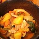 トマトと味噌で和風ラタトゥイユ