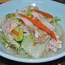 簡単!塩麹入り白菜と豚肉の重ね蒸し煮☆