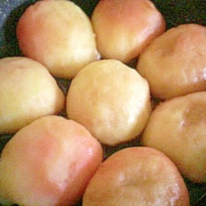 りんご煮と保存方法